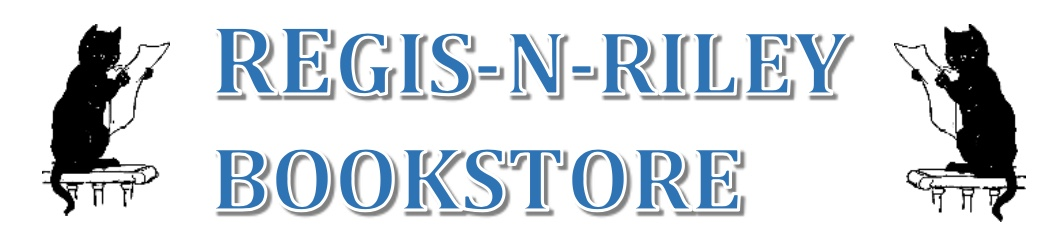 RegisNRiley Bookstore logo